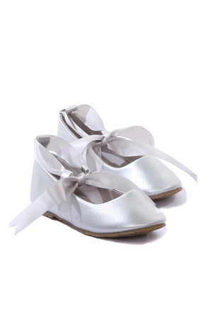 Bs004 Ballerina Shoes W Ribbon Tie