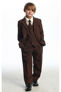 # CA5001BR : Boys 5 Pcs Formal Suit .