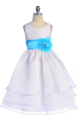 Three Layer Organza Dress