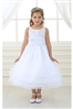 Flower Girl Dresses #CA574 : Three Layer Organza Dress