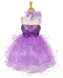 Flower Girl Dresses # CD1119P : Triple Layered Tulle Dress