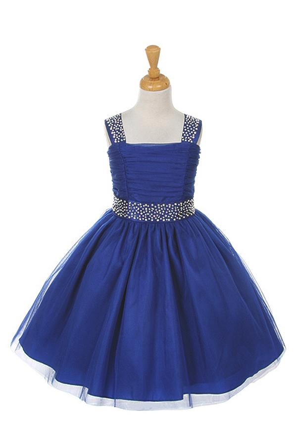 Flower Girl Dresses Cd1195rb Bling Super Shiny Studded