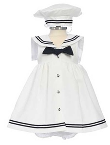 Sleeveless Sailor Dress