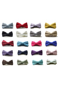 Solid Boy's Bow Ties