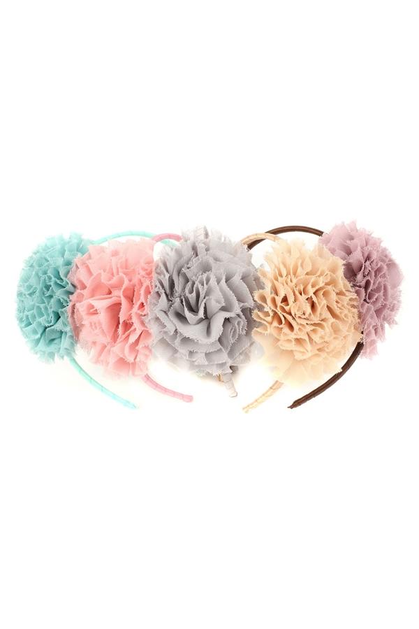 HB021   Chiffon Flower Headband 521e4f04020