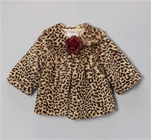 #KD280CHN : Cheetah Print Fur Coat