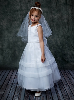 #KD360 : Fan Shape Design Communion Dress