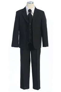 # KD5001BK : Boys 5 Pcs Formal Suit .
