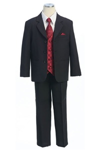 # KD5006B : Boys Formal Suit with Vest and Tie