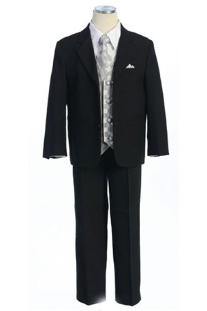 # KD5006S : Boys Formal Suit with Vest and Tie