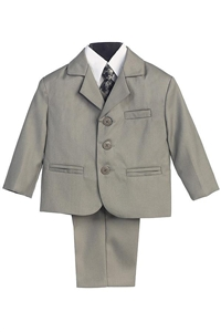 #LT3710LG : Boys Formal Suit with Vest and Tie