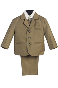 #LT3710OL : Boys Formal Suit with Vest and Tie