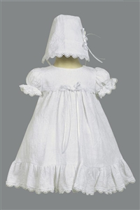 LTElla : Cotton Embroidered Christening Dress