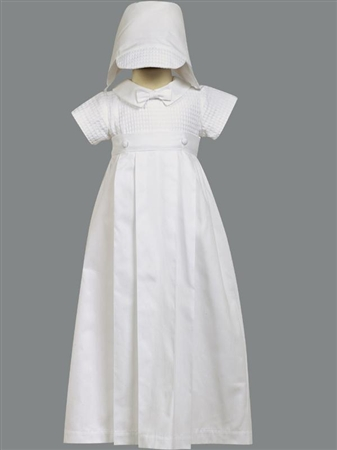 #LTMason : Cotton weaved w/ detachable gown and hat