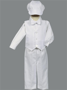 #LTNathan : Cotton weaved vest w/ cotton pants and hat