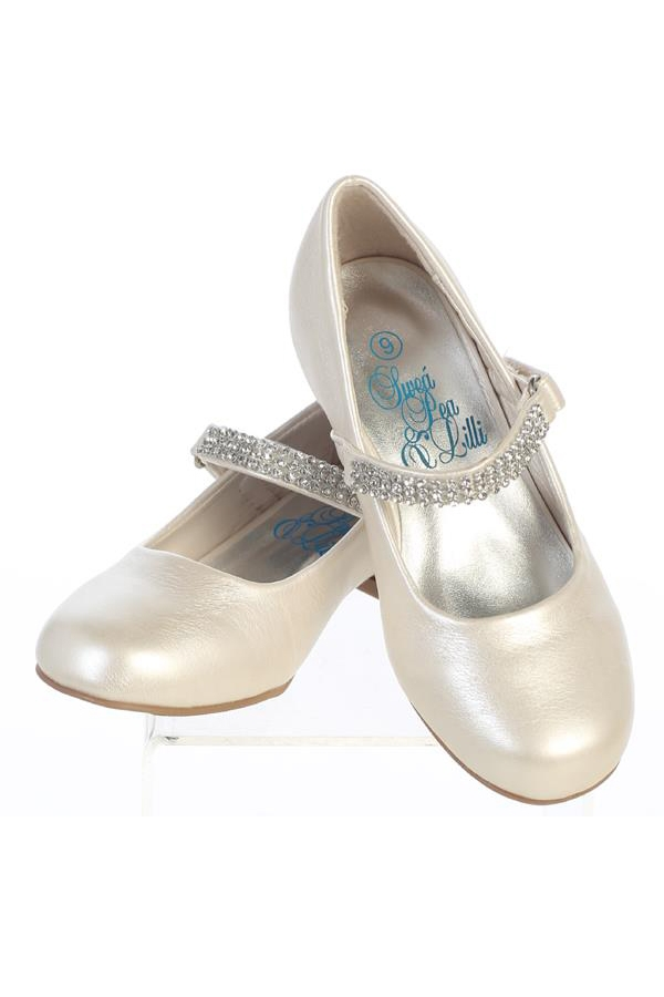 Mia 1 Quot Heel Shoes W Rhinestone Strap