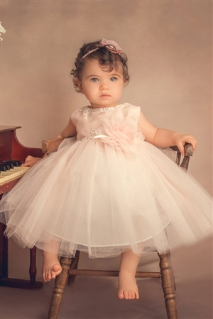 #PA266B_fl-95 : Baby Janet Dress