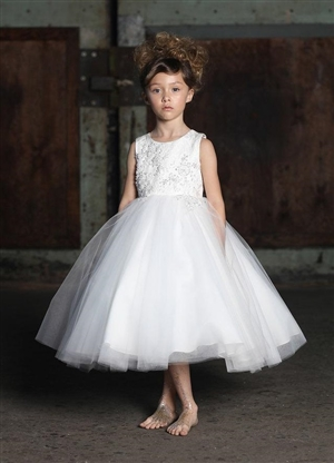 #PAC308-ivory-01  : Luna Dress