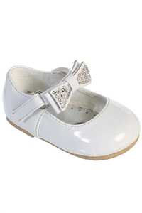 #S100 : Beautiful Bow Shoes with Adjustable  Strap