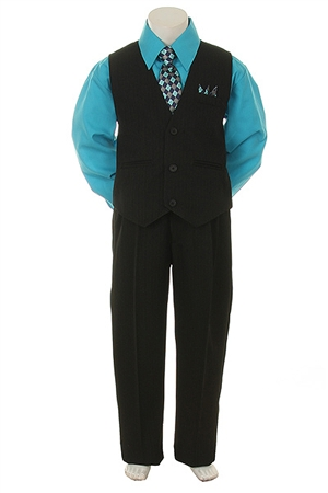 SH7000 : Boy's 4 Pcs. Vest Set