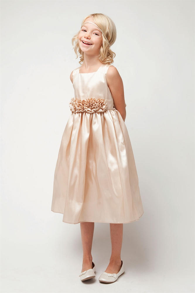 Sleeveless Light Weight Taffeta Dress