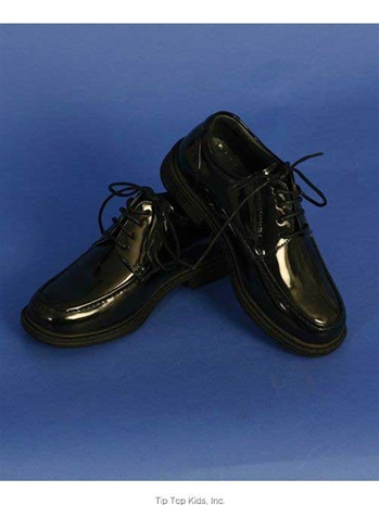 #TTS53 : Classic Lace -Up Oxford Dress Shoes For Boys