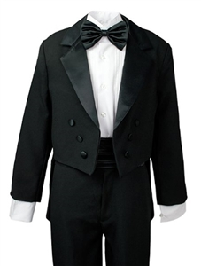 #AA008: Boys Formal Tuxedo with Tail