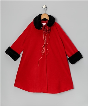 #KD127NR : Fleece Style Coat