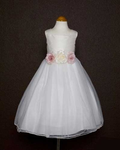 Dupioni silk bodice and tulle skirt flower girl dress flower girl dresses kd135wh dupioni silk bodice and tulle skirt flower girl dress mightylinksfo