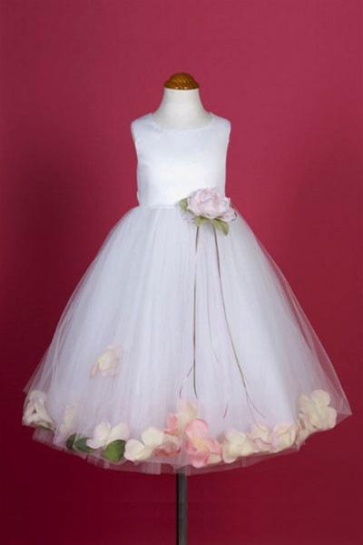 Flower girl dresses flower girl dress flowergirldressshop flower girl dresses kd160ap dupioni silk or satin bodice petal flower girl dress mightylinksfo