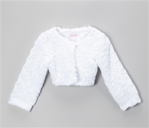 #KD330 : Cuddle Fur Bolero Jacket
