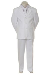 # KD5001W : Boys 5 Pcs Formal Suit .
