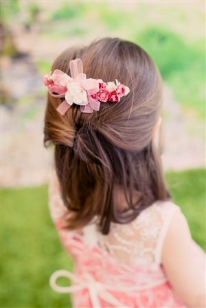 #KDHB004 : Floral Comb For Hair