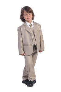 #LT3710K : Boys Formal Suit with Vest and Tie