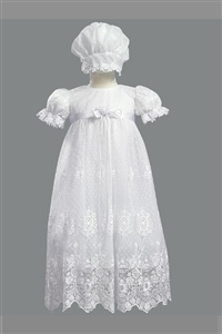 #LTMadison : Girls Christening Gown 2 Piece Tulle