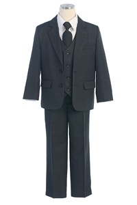 #SKM131C : Boy's 5 Piece 2-Button Suit Set