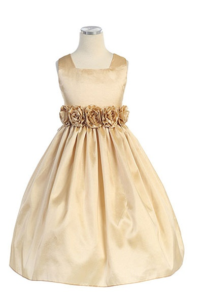 da470b941399 Sleeveless, Light Weight Taffeta Dress