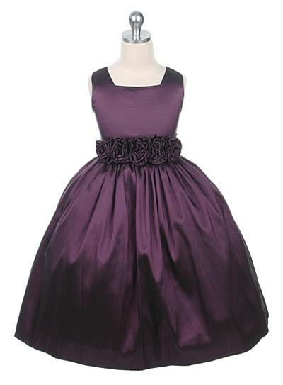 1a582d5322da Flower Girl Dresses SW3047PL: Sleeveless, Light Weight Taffeta Dress