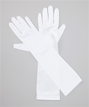 #TTSLG : Bellow Elbow Satin long Gloves